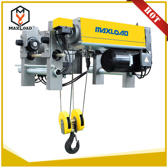 China 5 Ton European Design Wire Rope Electric Lifting Overhead