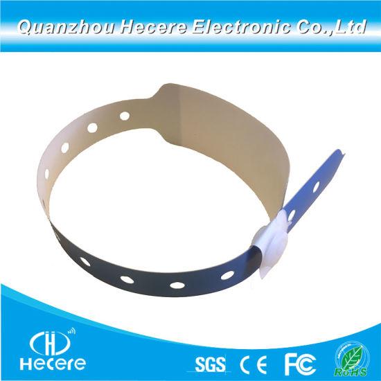China Paper Writable RFID Bracelet Ticket / Printable Paper RFID NFC - printable ticket paper