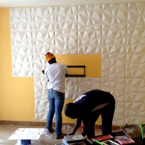 3d Wave Flocking Wallpaper China Guangzhou Wave Design Modern Pvc 3d Wall Panel For