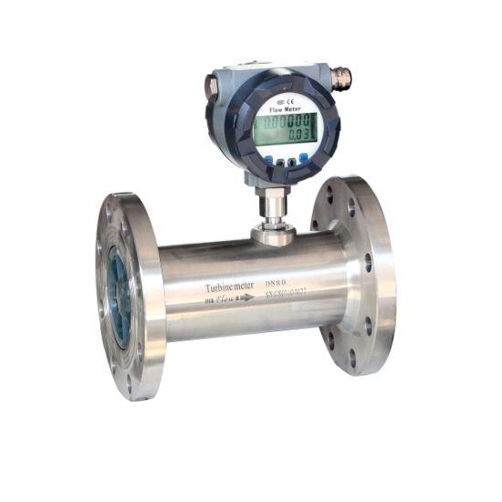 FM15-7 Manufacturer Directly Supply Oil Gas Diesel Fuel Digital Turbine  Flow Meter