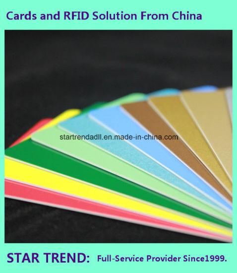 China 760micron Printable White PVC Card for Customized Membership
