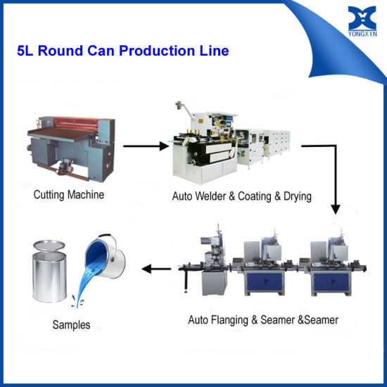 China Tin Can Equipment Metal Can Welding Machine for Paint Can