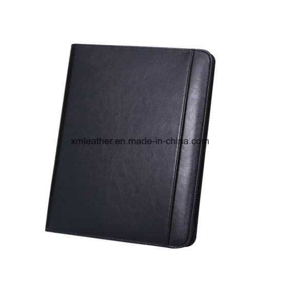 China Business Portfolio Case Resume Folder PU Leather Portfolio