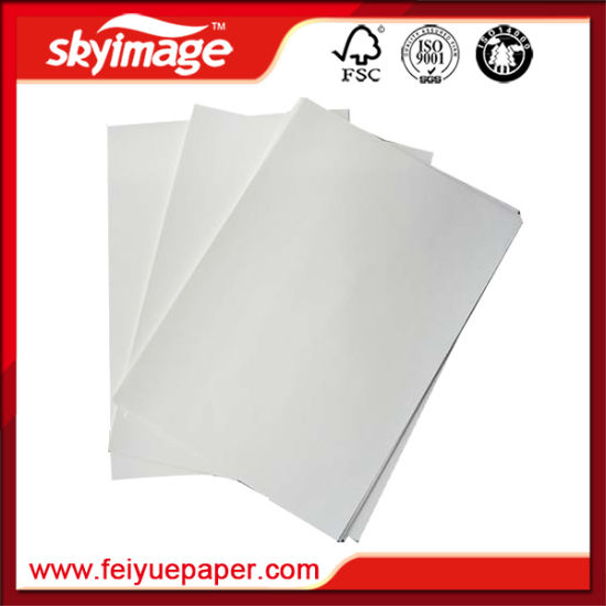 China High Quality A3/A4 Sheet Size Sublimation Paper for Polyster