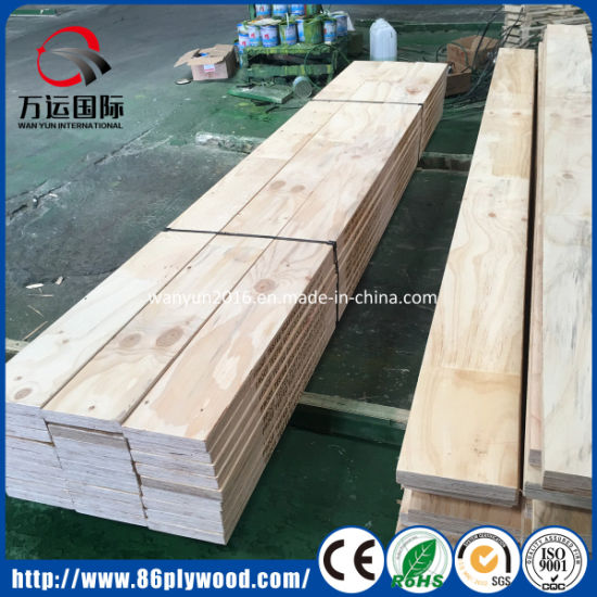China Poplar Pine LVL Plywood for Scaffolding Plank and Bed Frame
