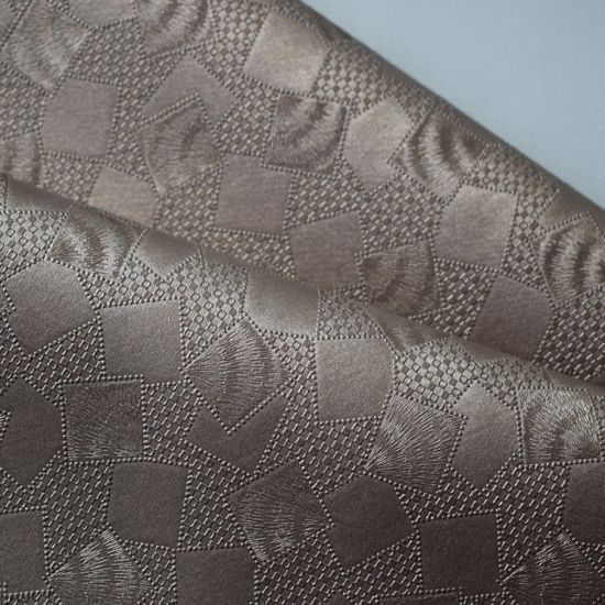 China Retro Texture Wall Cover Decoration PVC Leather for Furniture
