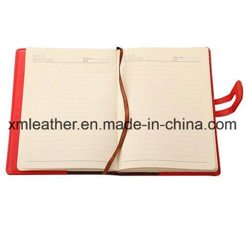 China PU Leather Magnetic Flap Writing Notebook Agenda Diary - China