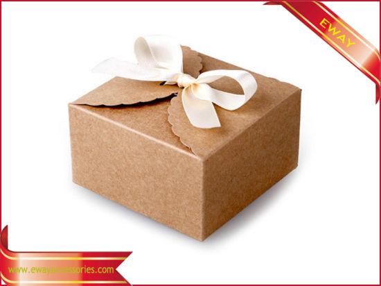 China Cake Food Box Kraft Fold Paper Box Gift Box - China Gift Paper
