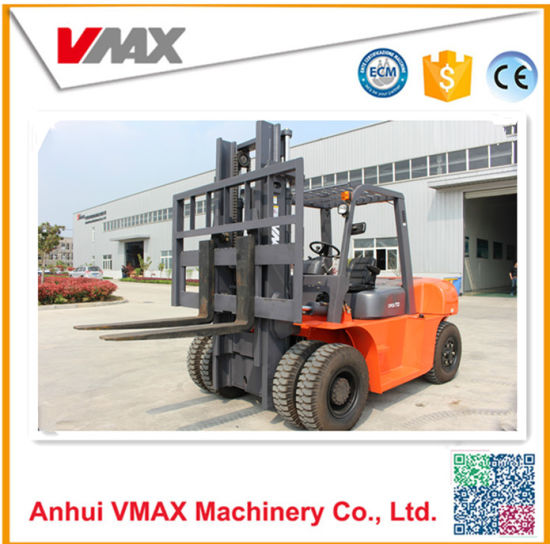 China Toyota Forklift! ! Manual 7 Ton Diesel Forklift with Ce