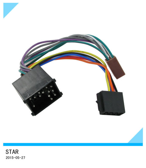 China BMW Car Auto Stereo CD Player Wiring Harness Adaptor ISO