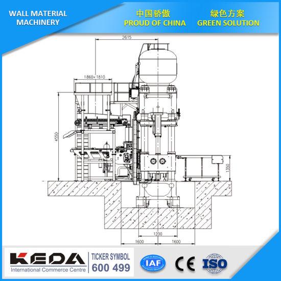 China Automatic Refractory Hydraulic Press Wall Brick Machine