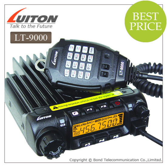 China High Power Transceiver Lt-9000 Car Radio - China Vhf/Uhf
