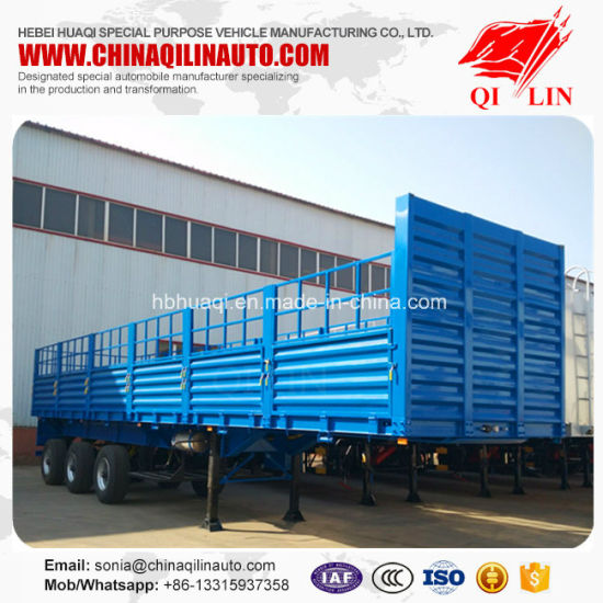 China Qilin Brand Storage Semi Trailer with Wabco ABS System - China