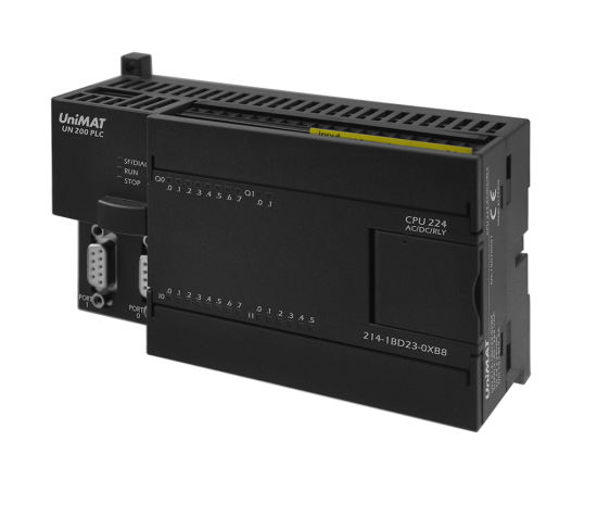 China Unimat 200 PLC with 224 AC / DC / Relay Equivalent of Siemens