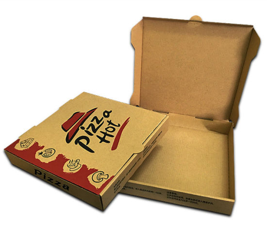 China Custom-Made 6/7/8/9/10/12 Inch Pizza Package Pizza Box - China