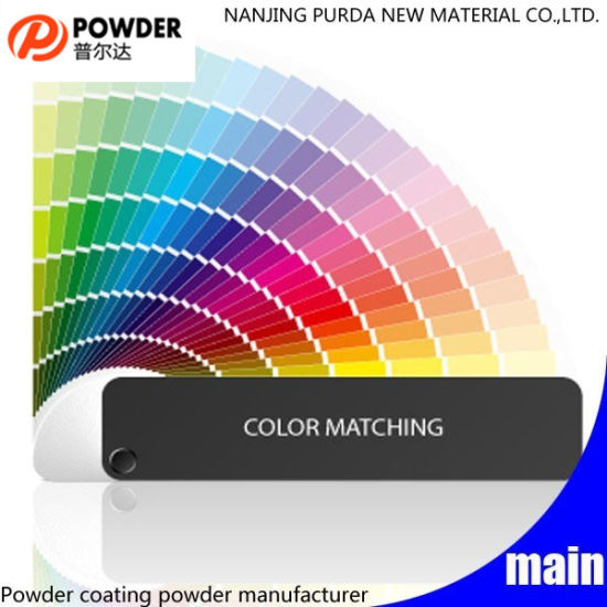 China Powder Coating Color Chart Standard Ral Colors - China