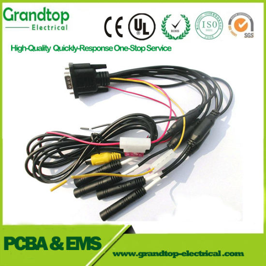 China Automotive Wiring Harness with Deutsch Connector and Boschs