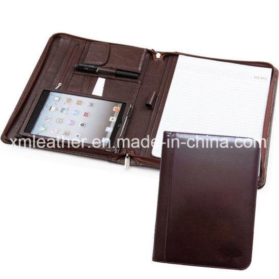 China Leather Tablet Case Resume Portfolio Briefcase for Interview - leather resume portfolio