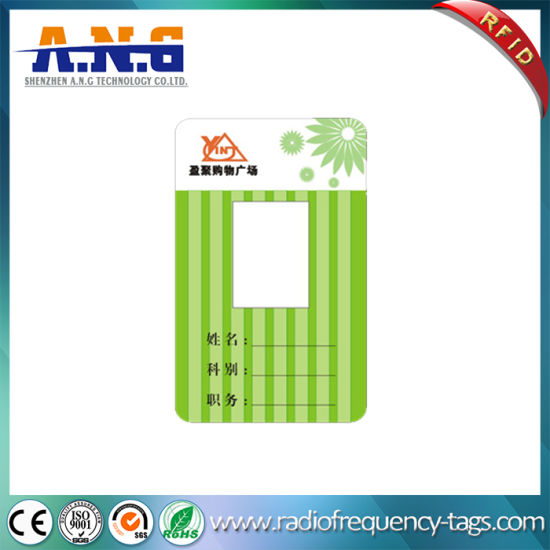 China Identity PVC Card Portrait ID Card for Employee Attendance