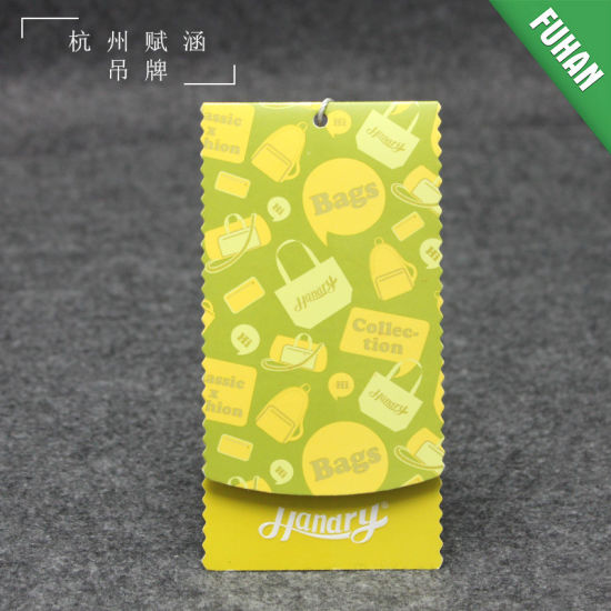 China Design and Sale Printed Paper Swing Ticket for Garment - China - printable ticket paper