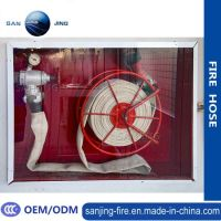 China Fire Hose Reel Cabinet with Glass Door - China Red ...