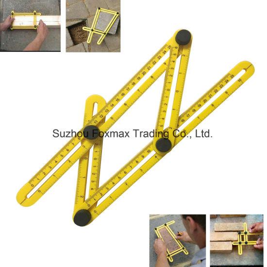 China Angler Measuring  Template Tool Template Tool / Angle Ruler