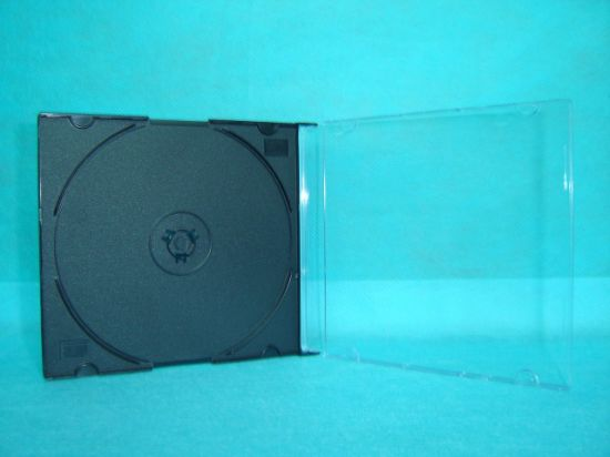 China Blank CD Case CD Cover CD Box Jewel 52mm Silm Square with