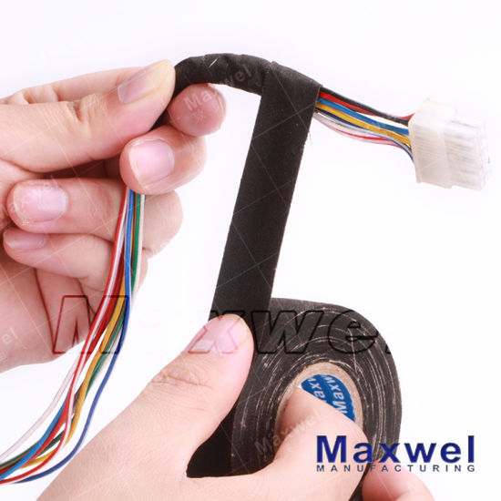 China Automotive Wiring Harness Tape Made From Fiber Cloth - China