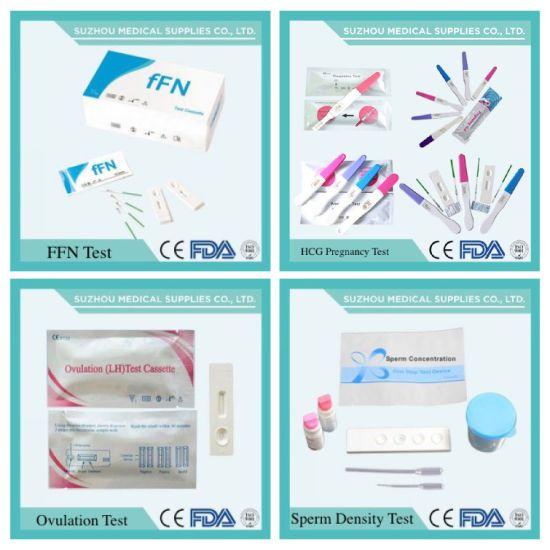 China Fertility Tester for Pregnancy, HCG/Lh/Fsh, Rapid Test Kit