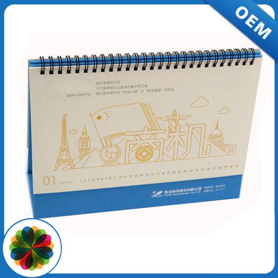 China Best Price Factory Glossy Paper Calendar Printing - China