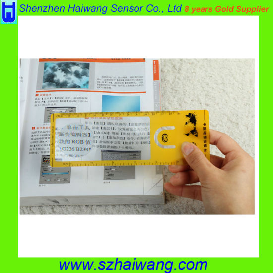 China Bookmark Size Magnifier Ruler for Promotional Gift - China
