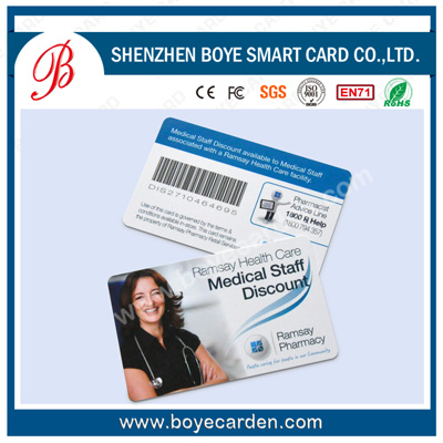 China OEM Portrait Printing Sample Photo ID Cards for Employee