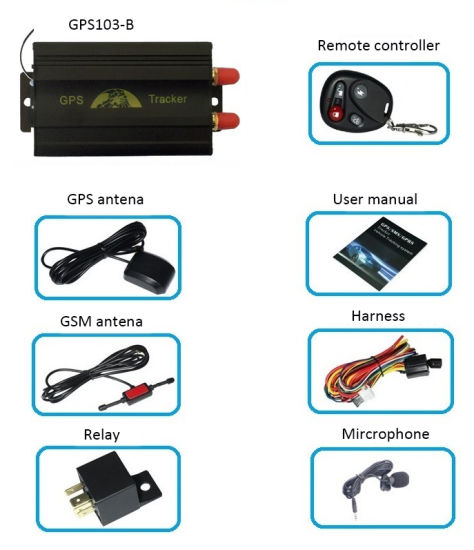 China Hot Sale Stop and Resume Engine Vehicle GPS Tracker with Cheap