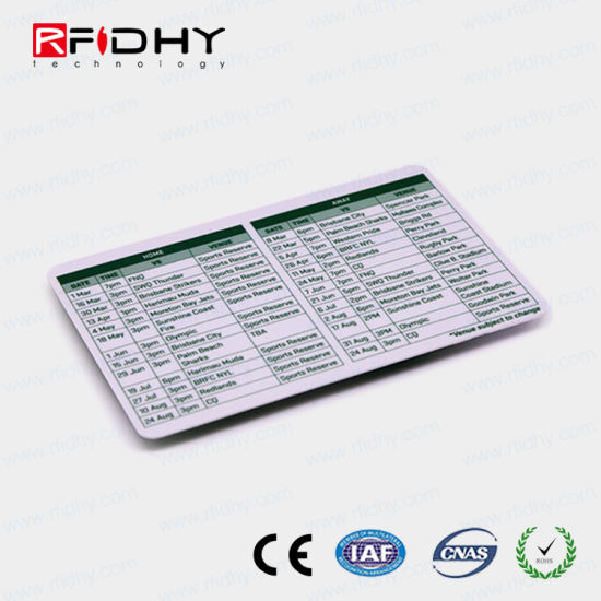 China Thermal Printable RFID Paper Metro Ticket for Zabra Printer - printable ticket paper