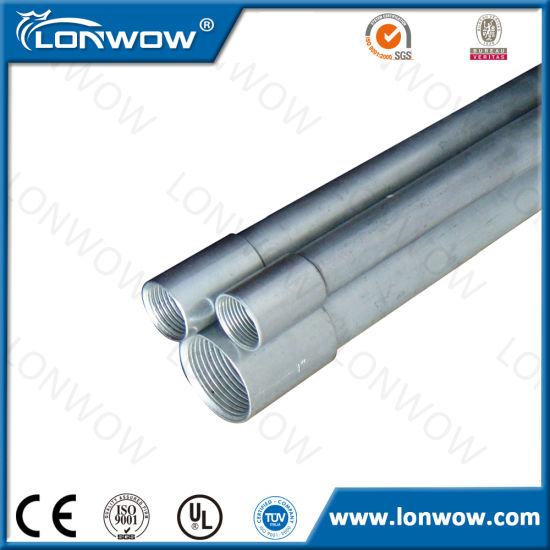 China Wiring Conduits IMC EMT Electrical Metallic Tube - China