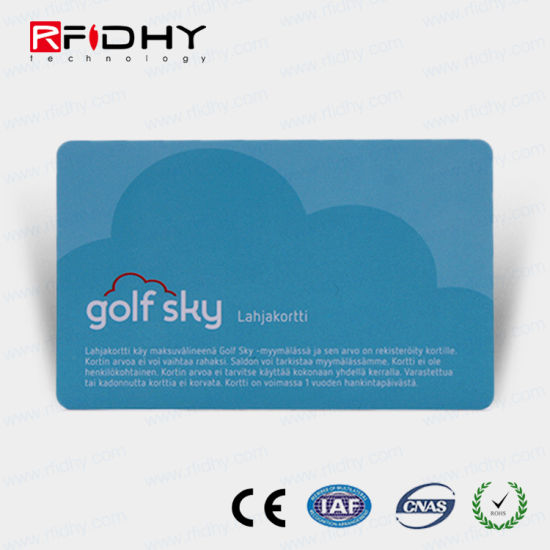 China Hologram Printing MIFARE RFID Paper Card for Ticket Payment - printable ticket paper