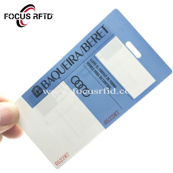 China Blank Paper RFID Card Hf UHF Paper White Electronic RFID