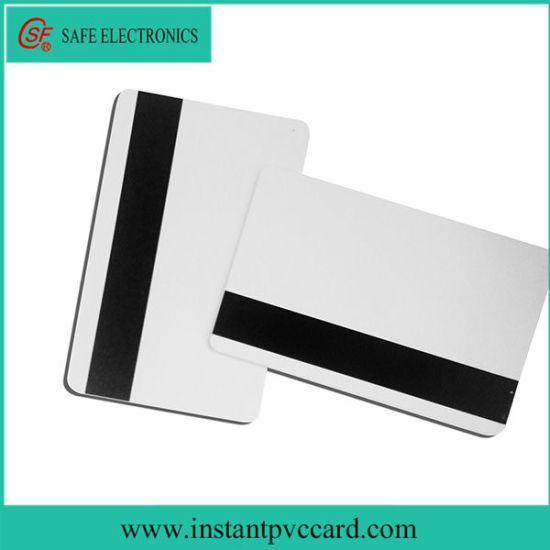 China Inkjet Printable Magnetic Strip Card for Membership Card