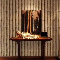 China Bamboo Design Interior Wall Decorative 3D Style