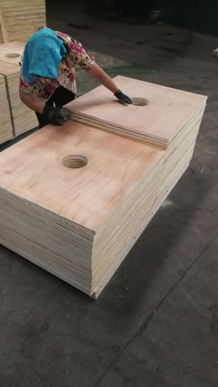 China Plywood with Hole for Paper Roller From Plywood Factory - paper roler