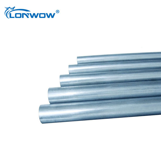 China Electrical Steel Galvanized EMT Conduit Pipe for Wiring
