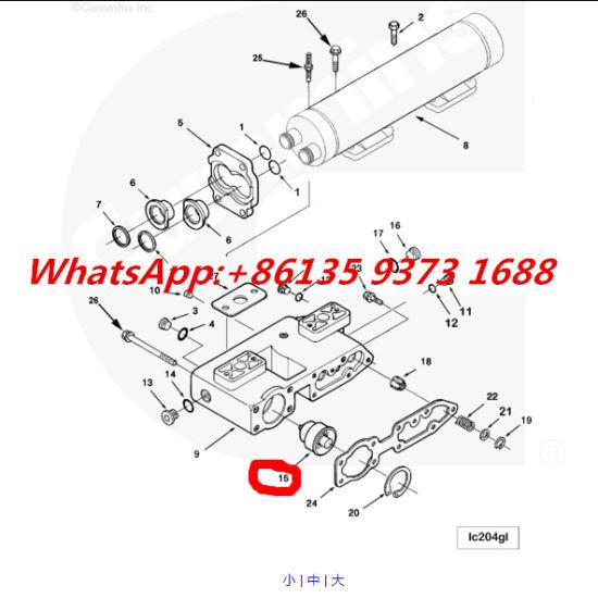 China Cummins ISM M11 Qsm Engine Thermostat 4952630 - China