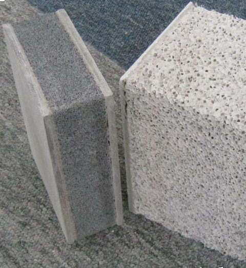 China Lightweight Composite External Interior Concrete Wall - Concrete Wall Insulation