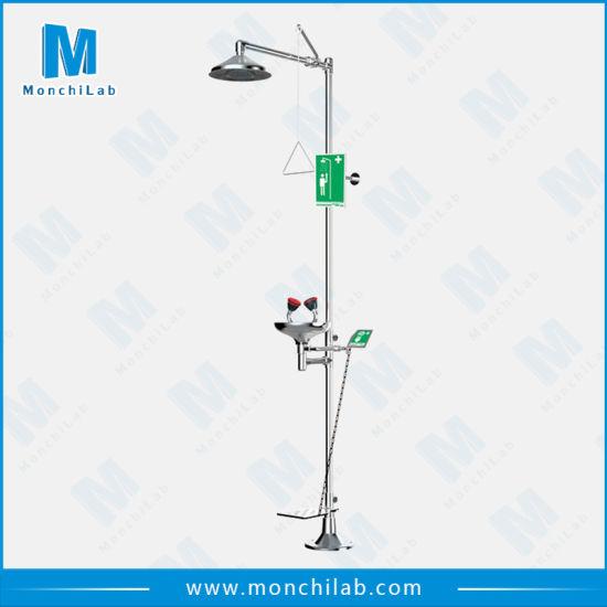 China Combination Lab Emergency Shower and Eye Washer - China Safety