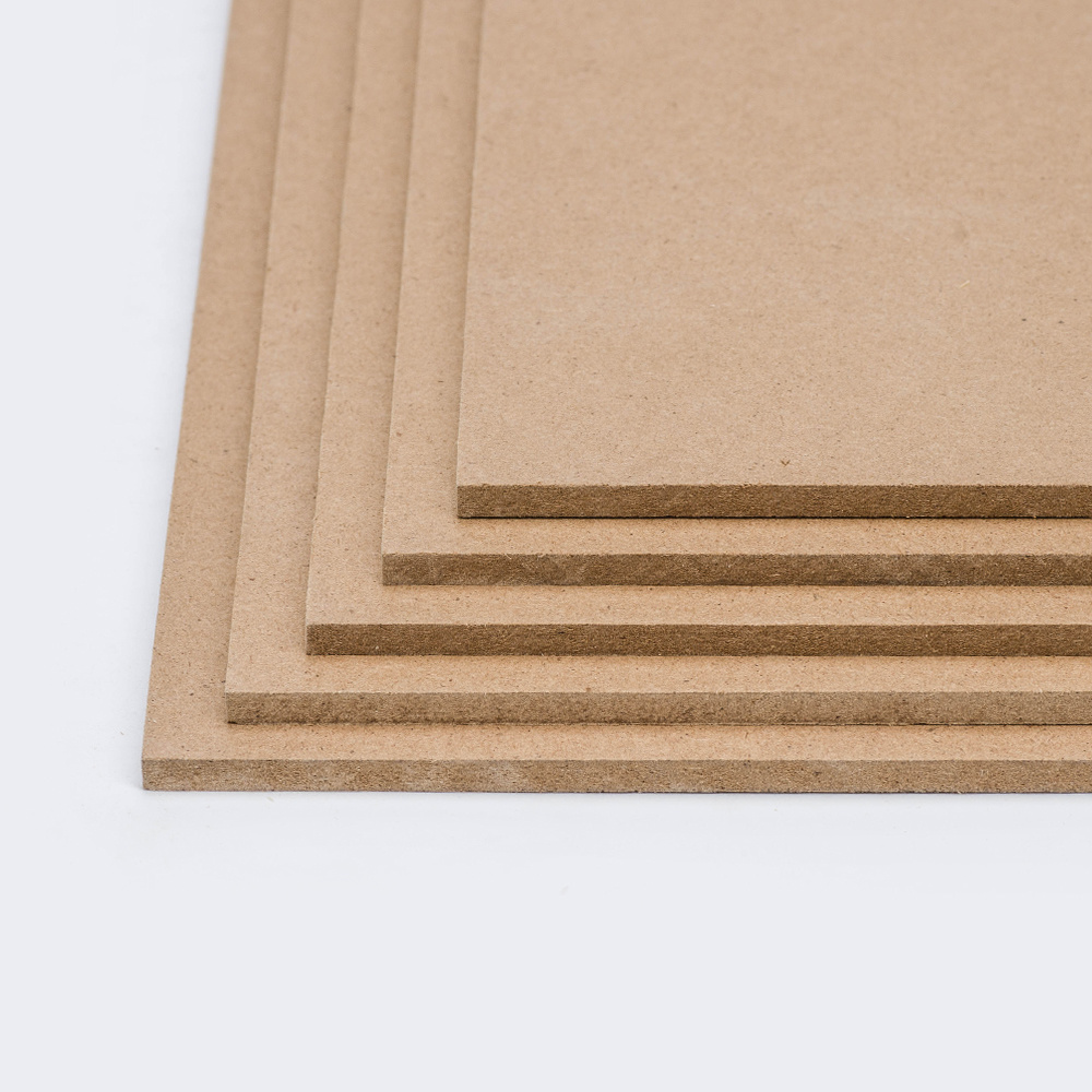 Mdf Panel China High Gloss Melamine Paper Mdf Panel Raw Hdf For Decoration