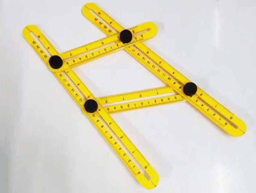 China ABS Ruler Measures All Angles Angle-Izer Template Tools Multi