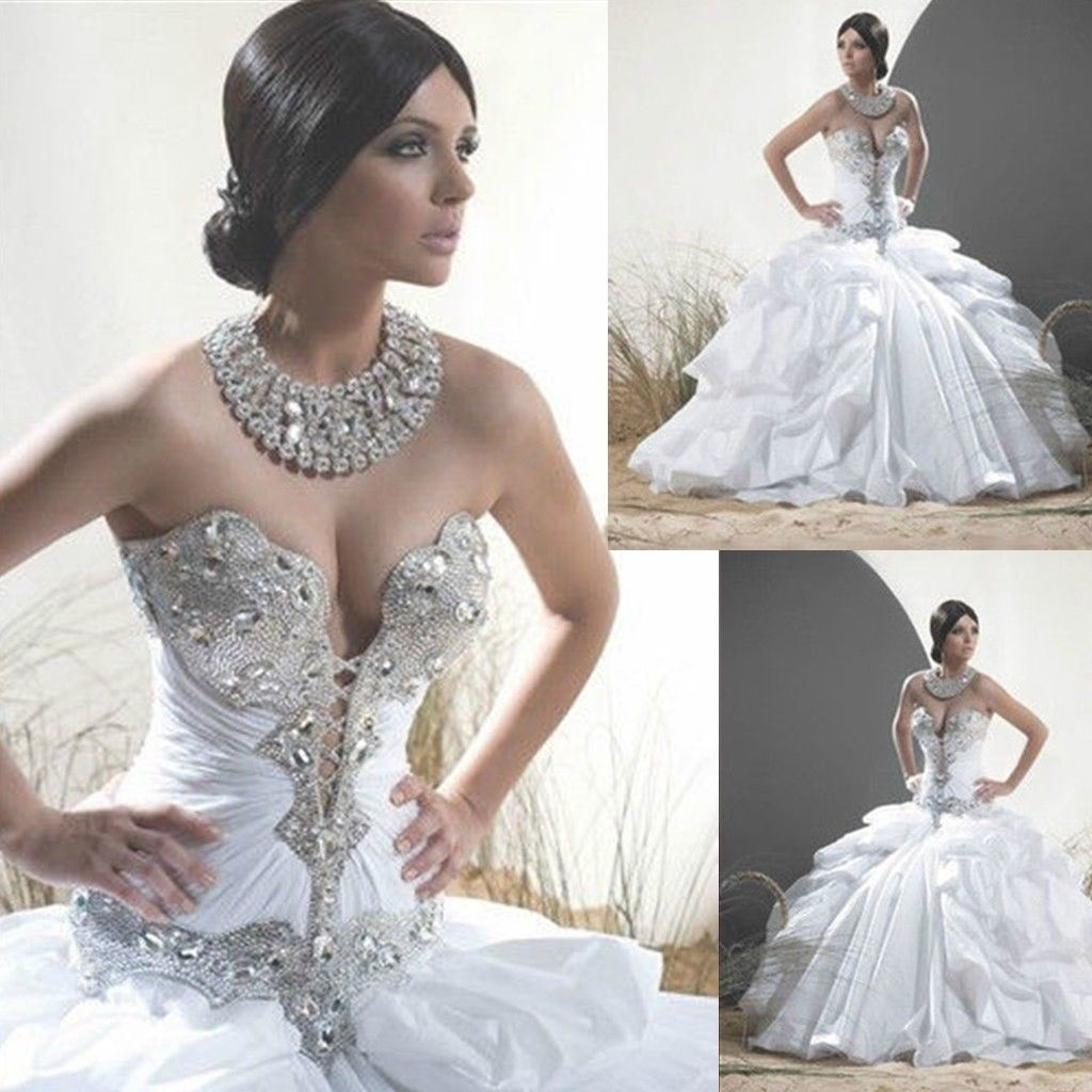 crystal bodice wedding dresses crystal wedding dresses Crystal bodice wedding dresses