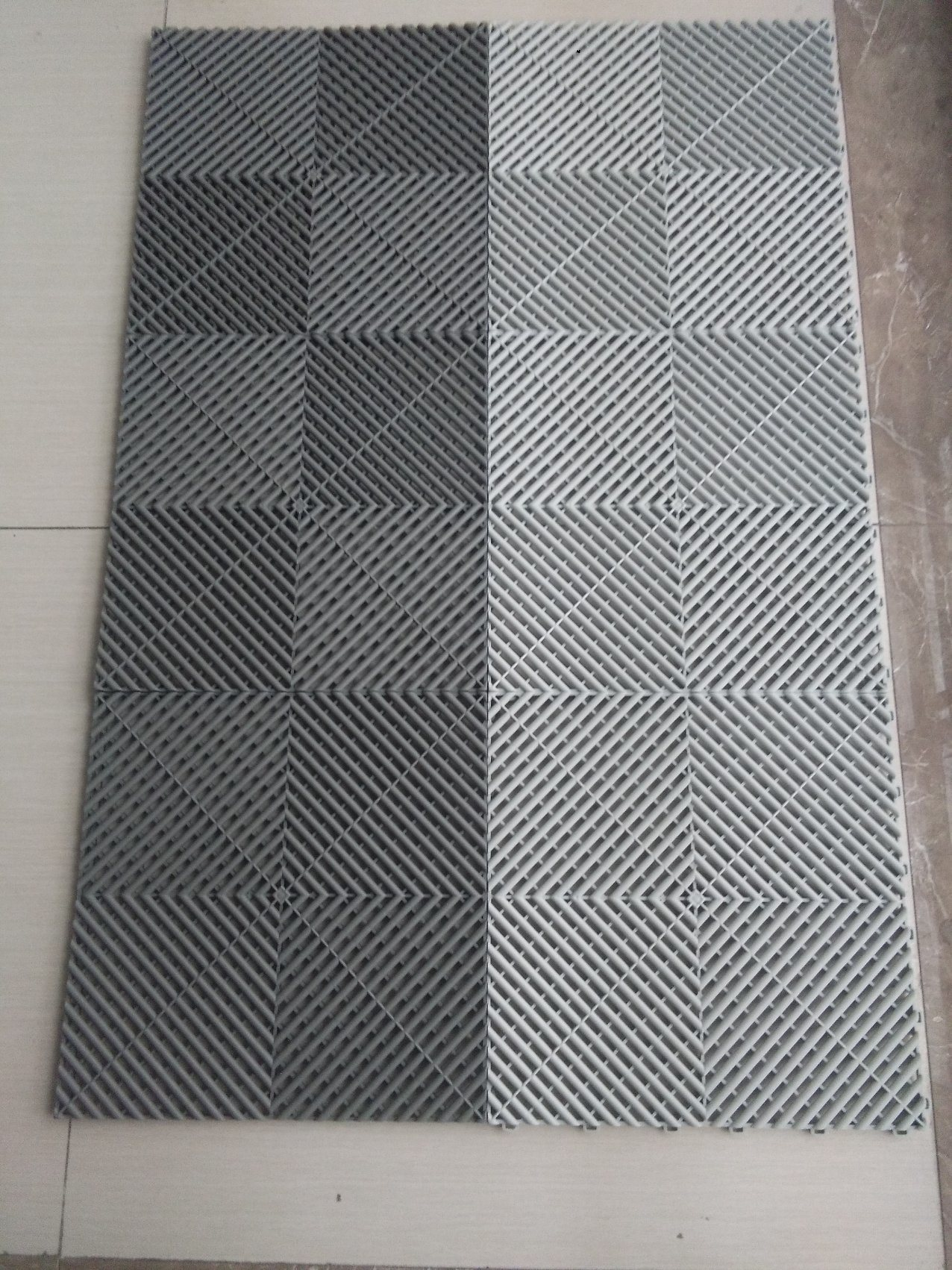 Garage Floor Tiles That Drain China Drainage Garage Basement Plastic Floor Interlocking Tiles