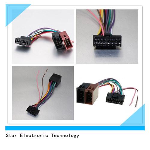 China 16 Pin Sony Electrical Automotive Car Radio Wiring Harness