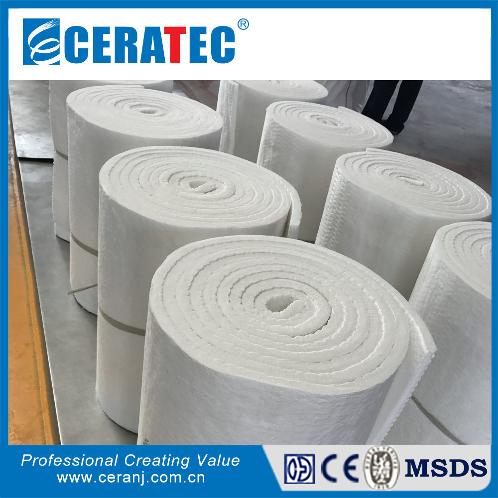 Foil Insulation Blanket Hot Item Ct Fire Proof Ceramic Fiber Aluminum Foil Insulation Blanket